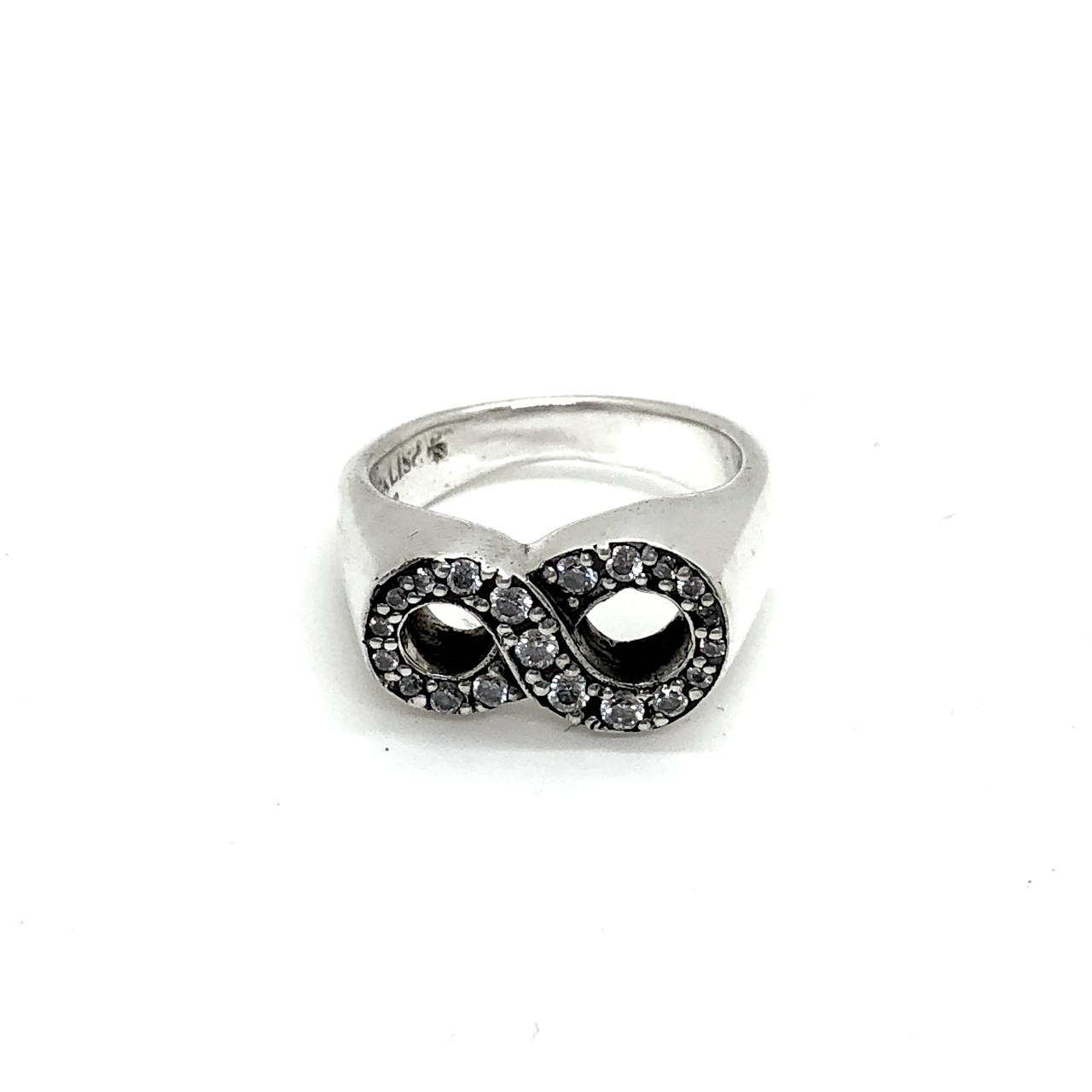 Infinity Pave Ring
