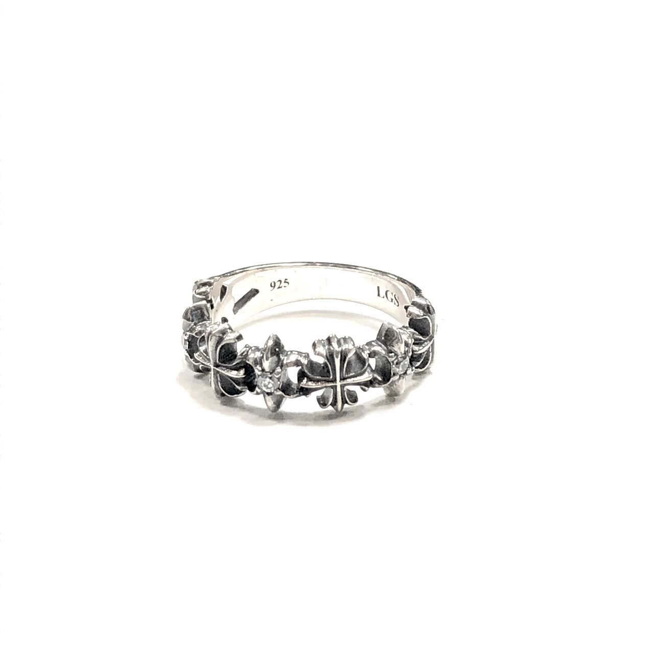 Lily Cross Ring