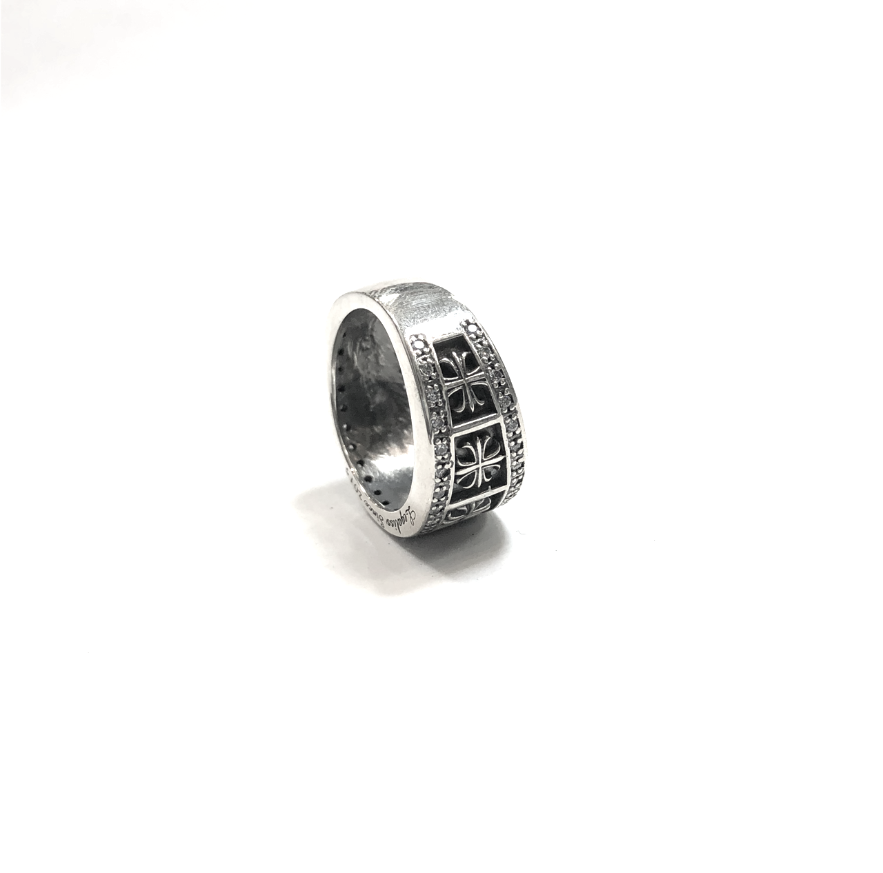 Cross Pave Ring2