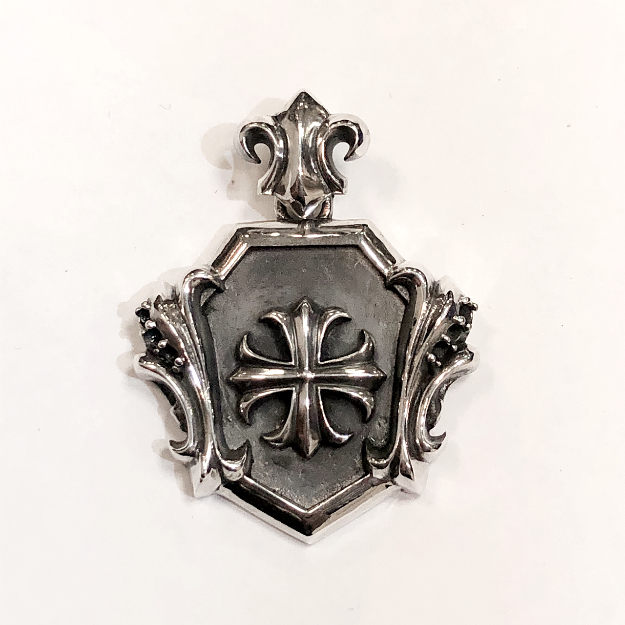 Silky Cross Pendant